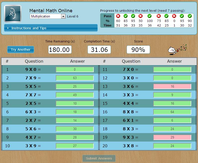US Mental Math Federation - Governing Organization for ...